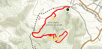 Camole/Karst hike Map