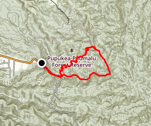 Kaunala Trail Map