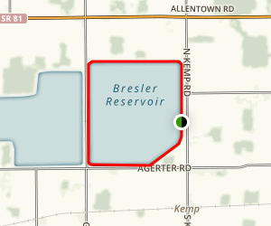 Bresler Reservoir Trail Map