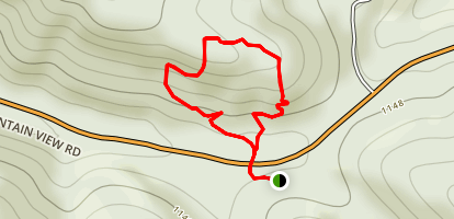 Faulkner County Park Ridge Trail Map