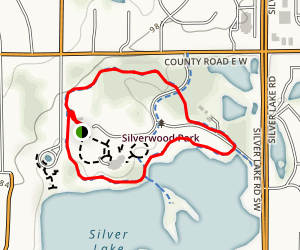 Silverwood Park Loop Map