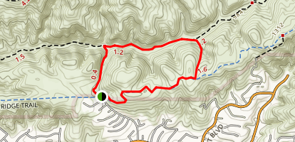 Little Canyon Loop Map