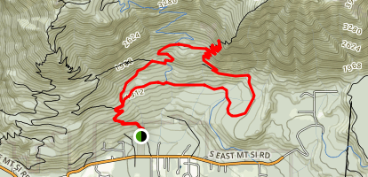 Mt. Si and Kamikaze/Teneriffe Falls Map