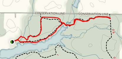 North Shore Trail Loop Map