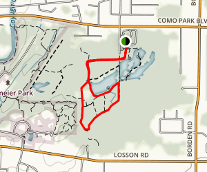 History and Beechtree Trail Map