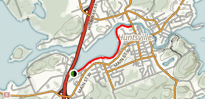 Hunters Bay Trail Map