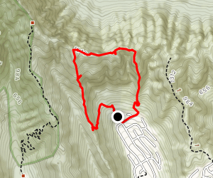 Hahaione to Pyramid Rock Loop Map