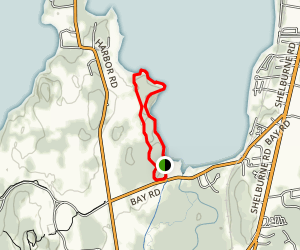 Shelburne Bay Loop Map