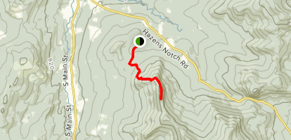 Burnt Mountain [PRIVATE PROPERTY] Map