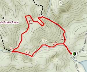 Carrick Creek Loop Map