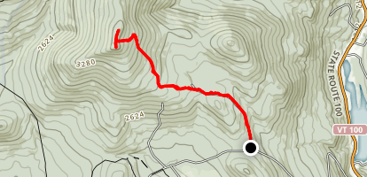 Shrewsbury Peak Trail Map