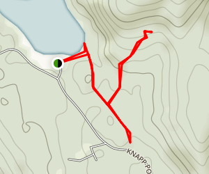 Knapp Ponds Trail Map