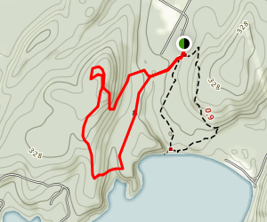 Muhley and Island View Loop Trail Map