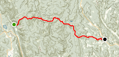 Appalachian Trail: Killington to Prosper Map