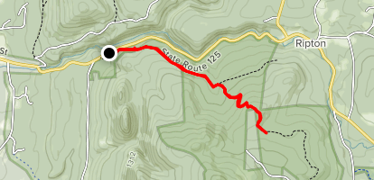 Oak Ridge Trail Map