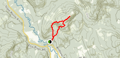 Rumford Whitecap Trail Map