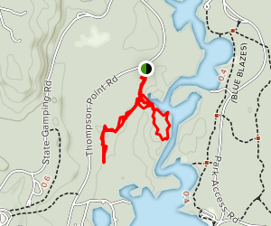 Songo River Trail Map