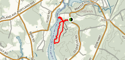 River Run Trail and Bridle Path Map