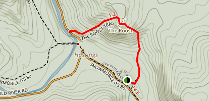 The Roost Trail Map