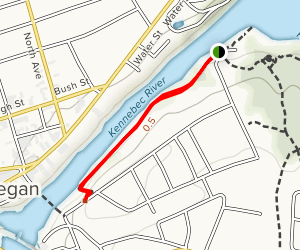 Skowhegan Riverwalk Map
