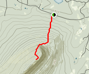 Big Spencer Mountain Trail Map