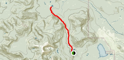 Russell Pond Trail Map