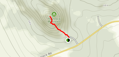 Haystack Mountain Trail Map
