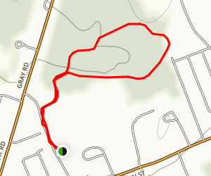 Claire Drew Trail Map