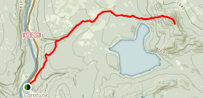 Appalachian Trail: Pleasant Pond Mountain Map