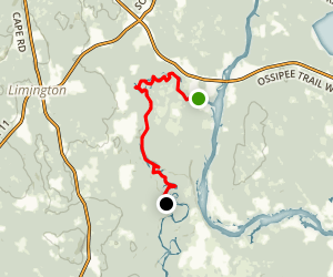 Little Ossipee River Map