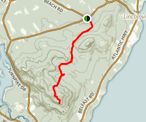 Sky Blue / Slope Trail Map