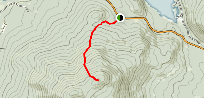 Aziscohos North Trail Map