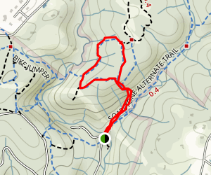 Bull Run Loop Map