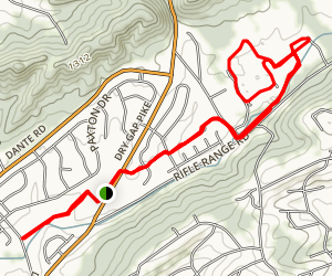 Sterchi Hill Park Loop Map