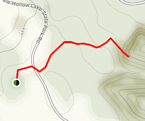 Cindy Cave Trail Dale Hollow Map