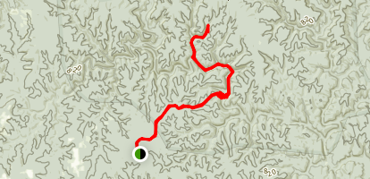 Bee Branch Trail Map