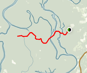 Mound Island Canoe Trail Map