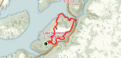 Lickskillet Trail Map