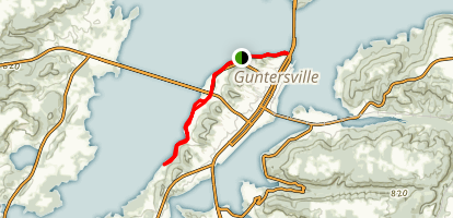 Guntersville Lake Bike Path Map