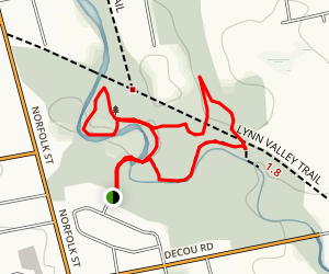 Brook Conservation Area Trails Map