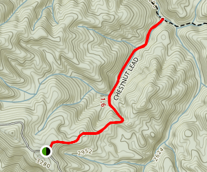 Chestnut Lead Trail Map