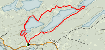 Bass and Dry Lake Loop Map