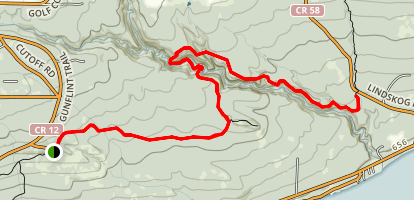 Pincushion Mountain Trails Map