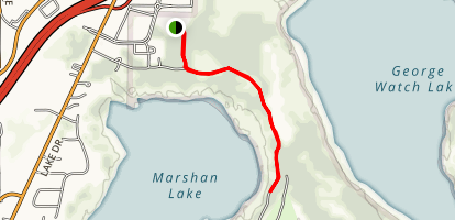 Marshan Lake Map