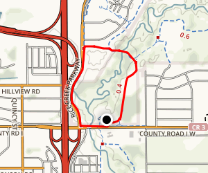 Rice Creek Loop Trail Map