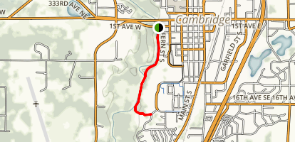 Rum River Trail Map