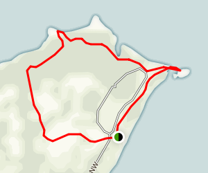 Stony Point Loop Map