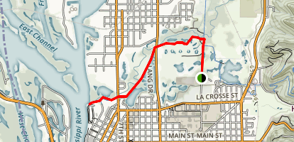 Three Rivers Trail Map