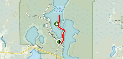 Chase Point Trail Map