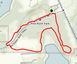 Pine Point Park Loop Map
